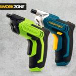 Workzone 3,6 V Li-Ion Akkuschrauber bei Hofer ab 9.10.2017 erhältlich