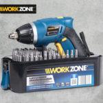 Hofer: Workzone Akkuschrauber im Angebot
