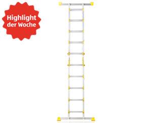 Workzone Multifunktionsleiter 4 x 5 Sprossen bei Aldi Süd erhältlich