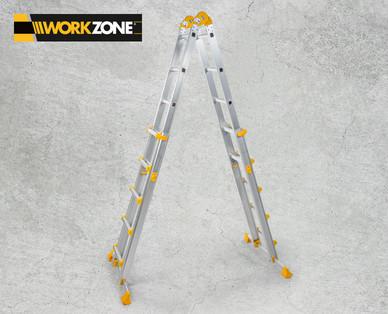 Workzone Multifunktionsleiter im Angebot bei Hofer ab 22.5.2018 – KW 21