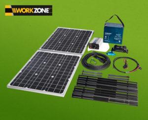 workzone solarstrom komplettpaket im hofer angebot. Black Bedroom Furniture Sets. Home Design Ideas