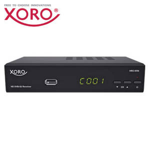 Xoro HRS 8556v2 HDTV-SAT-Receiver im Angebot bei Real ab 14.5.2018 – KW 20