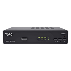XORO HRS 8566V2 PVRready HDTV-SAT-Receiver im Angebot bei Real ab 14.5.2018 – KW 20
