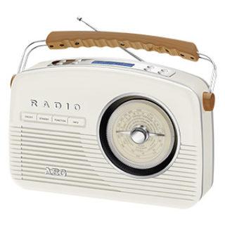 AEG NDR 4156 Nostalgie-Radio mit DAB+ und UKW im Real Angebot
