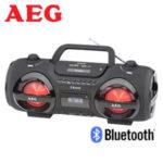 AEG SR 4359 BT Bluetooth-Stereo-CD-Radio im Real Angebot [KW 8 ab 19.2.2018]