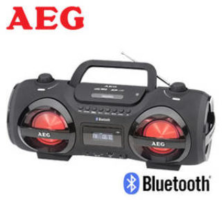 AEG SR 4359 BT Bluetooth-Stereo-CD-Radio: Real Angebot ab 25.3.2019 - KW 13