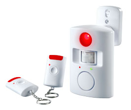 Alarmsystem mit Bewegungsmelder, Tür- und Fensteralarm und Co. im Angebot bei Kaufland [KW 25 ab 22.6.2017]