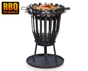 BBQ Grill- und Feuerkorb bei Aldi Süd erhältlich