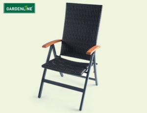 gardenline klappsessel milano hofer angebot ab 5. Black Bedroom Furniture Sets. Home Design Ideas