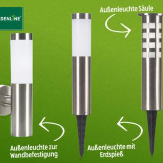 Gardenline Solar-Außenleuchte im Angebot » Hofer 13.3.2017 - KW 13