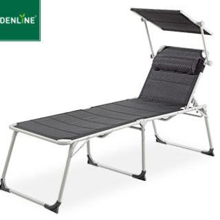 Gardenline XXL Aluminium-Komfort-Sonnenliege im Aldi Süd Angebot ab 11.6.2019