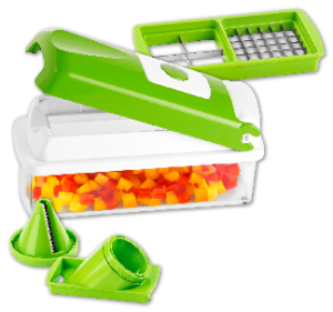 Genius Nicer Dicer Plus Kompakt-Set