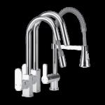 Home Creation Design- und Spiralfeder-Küchenarmatur bei Aldi Nord ab 7.10.2017 erhältlich