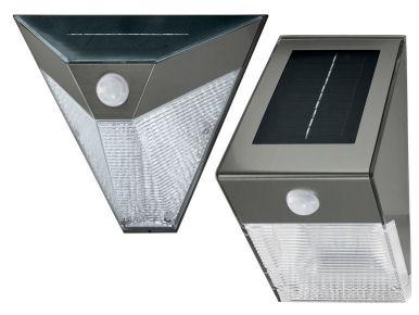 Lidl: Livarno Lux LED-Solar-Wandleuchte im Angebot