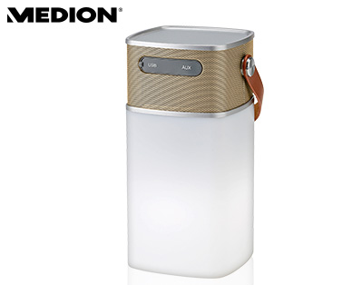 Medion E61506 Bluetooth-Lautsprecher mit LED-Licht