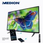 Medion Life P18117 MD 31201 Smart-TV Fernseher im Angebot bei Aldi Nord 30.3.2017 - KW 13