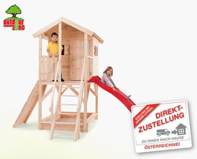 Hofer: Outdoor Zone Stelzenhaus im Angebot [1.3.2018 – 21.3.2018]
