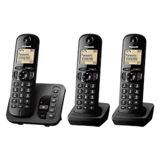 Panasonic KX-TGC223GB Trio Schnurlos-DECT-Telefon im Real Angebot