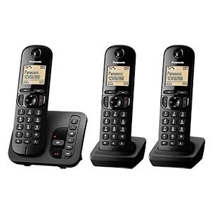 Panasonic KX-TGC223GB Trio Schnurlos-DECT-Telefon im Real Angebot ab 26.3.2018 – KW 13