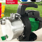 Norma 25.5.2020: PowerTec Garden Edelstahl-Gartenpumpe 1100 Watt im Angebot