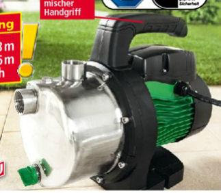 Norma: PowerTec Garden Edelstahl-Gartenpumpe 1100 Watt im Angebot ab 18.4.2018