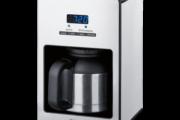 Quigg Kaffeeautomat mit Edelstahl-Thermoskanne