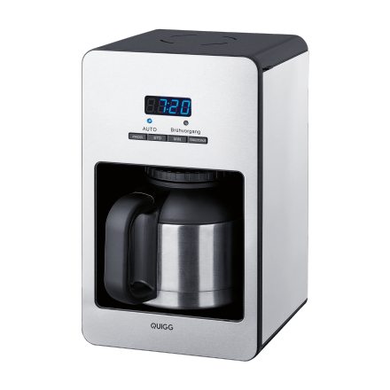 quigg kaffeeautomat mit edelstahl thermoskanne im angebot bei aldi nord kw 27 ab 6. Black Bedroom Furniture Sets. Home Design Ideas
