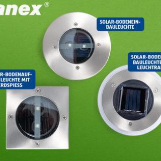 Hofer: RANEX LED-Solar-Bodenleuchte im Angebot