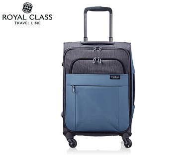 aldi s d royal class travel line trolley boardcase