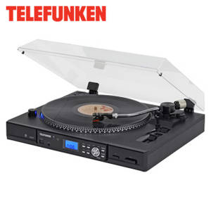 Telefunken TT100EM Plattenspieler im Real Angebot [KW 12 ab 19.3.2018]