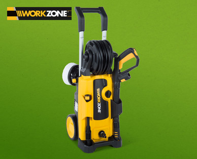 workzone hochdruckreiniger im hofer angebot kw 13 ab 29. Black Bedroom Furniture Sets. Home Design Ideas