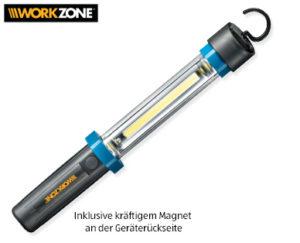 Workzone LED-Arbeitsleuchte und Leuchte Swing bei Aldi Süd erhältlich