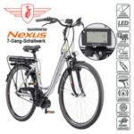 Zündapp Alu-Elektro Citybike 6.0 28er im Angebot bei Real 26.2.2018 - KW 9