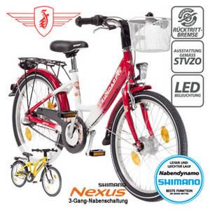 Zündapp-Jungen-oder-Mädchen-Fahrrad-Yellow-2.0-20er-Real