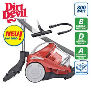 Dirt Devil Yazz-2.1 Bodenstaubsauger im Real Angebot