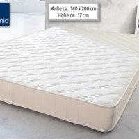 Dormia supercomfort 140 Qualitäts-Matratze: Aldi Süd Angebot ab 20.12.2018 - KW 51