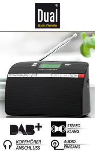 dual dab14 portables dab ukw radio im norma angebot ab 30. Black Bedroom Furniture Sets. Home Design Ideas