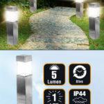 Duracell Solar LED-Solar-Gartenlampe 4er-Set im Angebot » Norma 19.2.2020 - KW 8