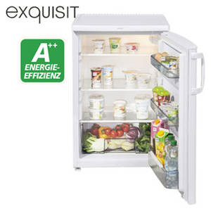 Exquisit KS 17-5 RV A++ Vollraum-Kühlschrank im Angebot bei Real [KW 4 ab 22.1.2018]