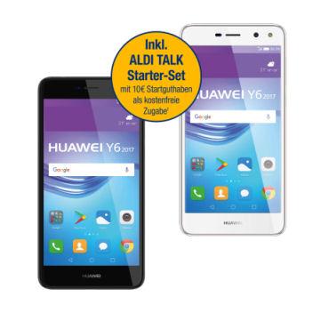 Aldi Nord 27.7.2017: Huawei Y6 2017 Smartphone im Angebot