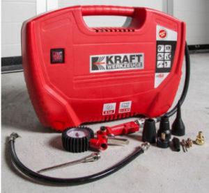 Kraft Werkzeuge Koffer-Kompressor