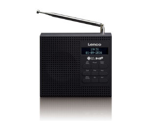 Lenco PDR-19BK Radio mit DAB+ im Real Angebot