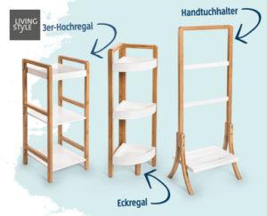 living style badezimmerm bel bambus im hofer angebot ab 19 kw 29. Black Bedroom Furniture Sets. Home Design Ideas