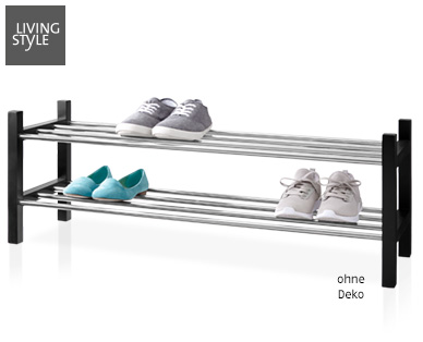 Living Style Schuhregal im Aldi Süd Angebot ab 30.7.2018 – KW 31