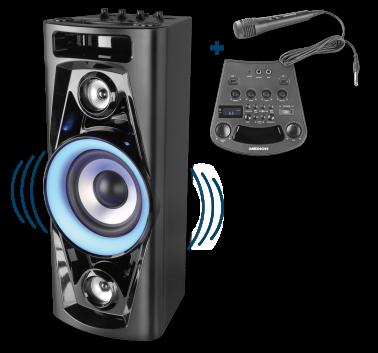 Penny Markt 20.7.2017: Medion Partysoundsystem MD 43439 erhältlich