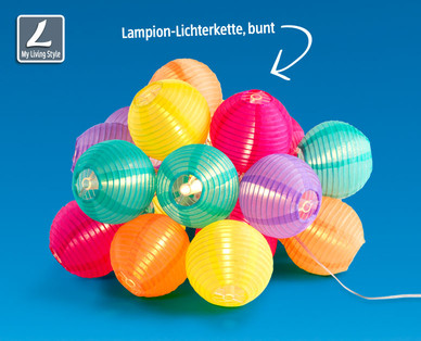 Hofer: My Living Style LED-Sommerlichterkette im Angebot [KW 30 ab 24.7.2017]
