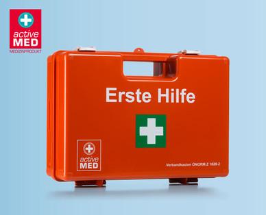 Hofer: Active Med Verbandskasten für Betriebe und Zubehör im Angebot ab 24.8.2017
