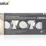 Casalux LED-Einbauleuchten 3er-Set bei Aldi Süd erhältlich