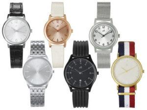 Damen Herren Armbanduhr Slimline 2017