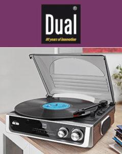 Dual Schallplattenspieler mit Radio DTR 50 bei Norma erhältlich